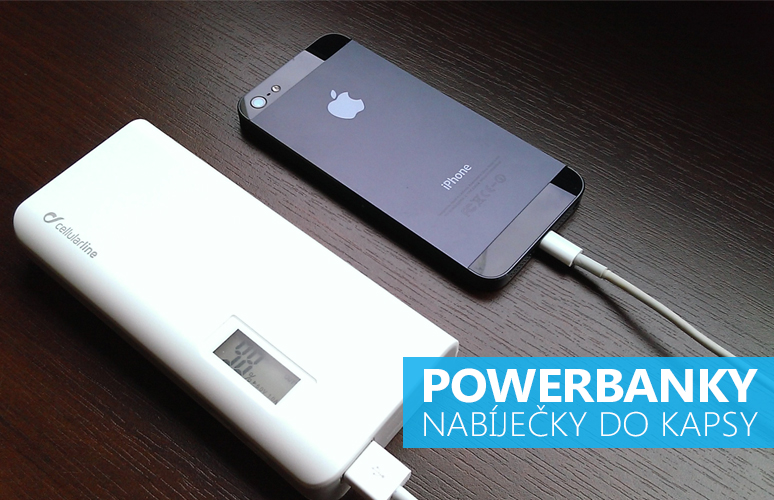 Externí baterie pro iPhone a iPad