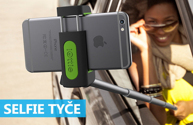 Selfie tyče pro iPhone