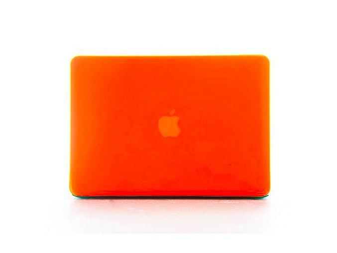 Polykarbonátové pouzdro / kryt na MacBook Air 11 - matný oranžový