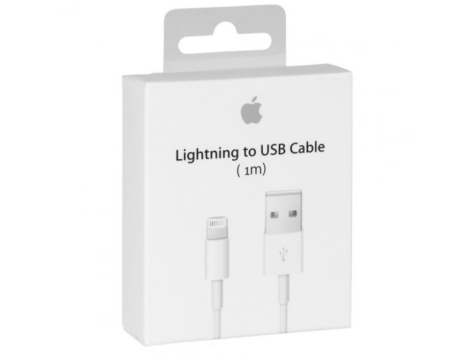 Kabel Lightning 100cm pro iPhone a iPad - Apple, md818zm/a