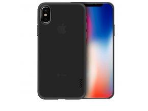 Ochranný kryt pro iPhone X - Hoco, Ultrathin Black