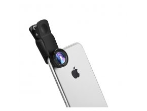 Objektiv pro iPhone - Hoco, PH5 Owl (Wide-angle and Macro lens)