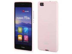 Pouzdro / kryt pro Huawei P8 LITE (2016) - Mercury, Jelly Pink