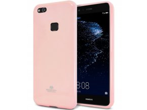 Pouzdro / kryt pro Huawei P10 LITE - Mercury, Jelly Pink