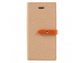 Pouzdro / kryt pro iPhone 7 / 8 - Mercury, Milano Diary ORANGE/ORANGE