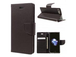 Pouzdro / kryt pro iPhone 7 / 8 - Mercury, Bravo Diary BROWN