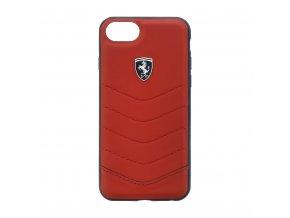Pouzdro / kryt pro iPhone 7 / 8 - Ferrari, Heritage Back Red