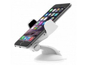 Univerzální držák do auta pro Apple iPhone 4 / 4S / 5 / 5S / 6 / 6S / SE / 7 / 8 / X - iOttie, Easy Flex 3 White