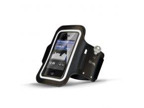 Sportovní pouzdro na ruku pro iPhone 5 / 5S / 5C / SE / 6 / 6S / 7 / 8 / X - CELLY, Black