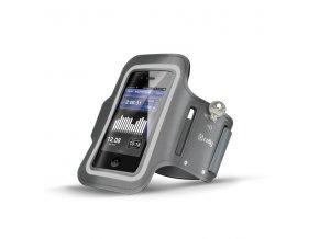 Sportovní pouzdro na ruku pro iPhone 5 / 5S / 5C / SE / 6 / 6S / 7 / 8 / X - CELLY, Grey