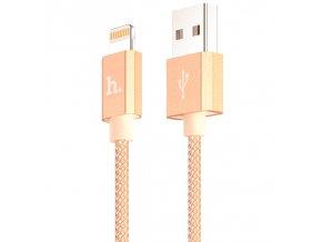 Certifikovaný kabel lightning pro iPhone a iPad - Hoco, UPF01 Gold