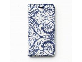 Pouzdro / kryt pro Apple iPhone 6 / 6S - Zenus, Denim Paisley Diary