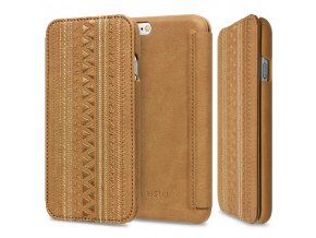 Pouzdro / kryt pro Apple iPhone 6 / 6S - STILMIND, BOHEMIAN CHIC CAMEL