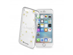 Pouzdro / kryt pro Apple iPhone 6 / 6S - Cellularline, STYLE FLOWER