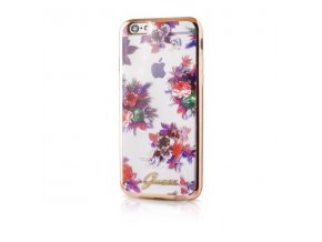 Pouzdro / kryt pro Apple iPhone 6 / 6S - Guess, Blossom Flower