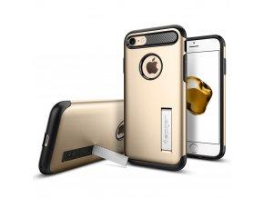 Pouzdro / kryt pro Apple iPhone 7 / 8 - Spigen, Slim Armor Champagne Gold