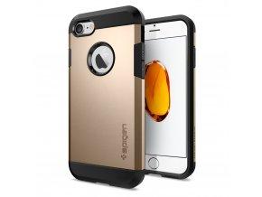 Pouzdro / kryt pro Apple iPhone 7 / 8 - Spigen, Tough Armor Champagne Gold