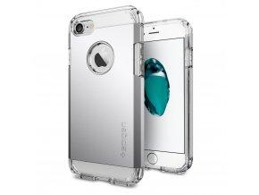 Pouzdro / kryt pro Apple iPhone 7 / 8 - Spigen, Tough Armor Satin Silver