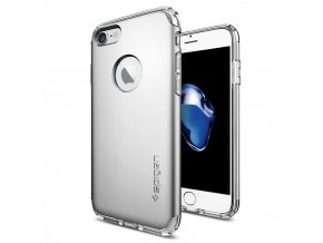 Pouzdro / kryt pro Apple iPhone 7 / 8 - Spigen, Hybrid Armor Satin Silver