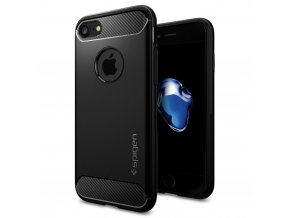 Pouzdro / kryt pro Apple iPhone 7 / 8 - Spigen, Rugged Armor Black
