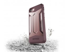 Pouzdro / kryt pro Apple iPhone 7 / 8 - X-DORIA, DEFENSE GEAR ROSE GOLD