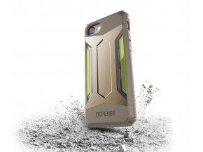 Pouzdro / kryt pro Apple iPhone 7 / 8 - X-DORIA, DEFENSE GEAR GOLD