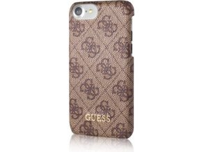 Pouzdro / kryt pro Apple iPhone 7 / 8 - Guess, 4G Hard Brown