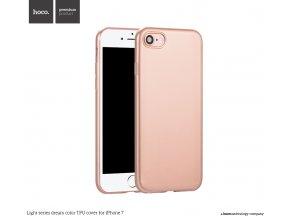 Pouzdro / kryt pro Apple iPhone 7 / 8 - Hoco, DreamColor Rose Gold