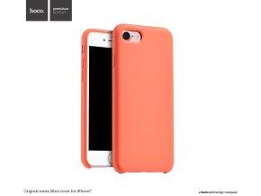 Pouzdro / kryt pro Apple iPhone 7 / 8 - Hoco, Silica Orange