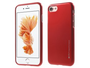 Pouzdro / kryt pro Apple iPhone 7 / 8 - Mercury, i-Jelly Red