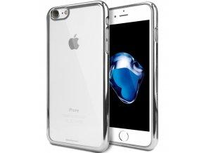Pouzdro / kryt pro Apple iPhone 7 / 8 - Mercury, Ring2 Silver