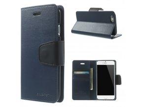 Pouzdro / kryt pro Apple iPhone 6 / 6S - Mercury, Sonata Diary Navy