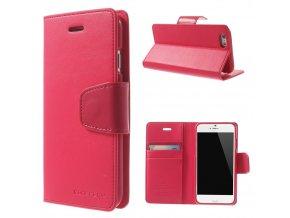 Pouzdro / kryt pro Apple iPhone 6 / 6S - Mercury, Sonata Diary Hotpink