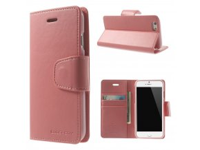 Pouzdro / kryt pro Apple iPhone 6 / 6S - Mercury, Sonata Diary Pink