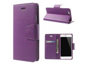 Pouzdro / kryt pro Apple iPhone 6 / 6S - Mercury, Sonata Diary Purple