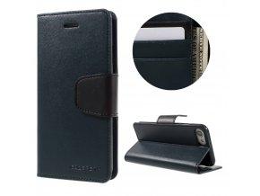 Pouzdro / kryt pro iPhone 7 / 8 - Mercury, Sonata Diary Navy
