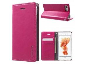 Pouzdro / kryt pro iPhone 7 / 8 - Mercury, Bluemoon Flip Hotpink