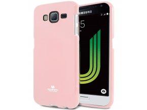 Pouzdro / kryt pro Samsung GALAXY J5 (2016) J510 - Mercury, Jelly Pink