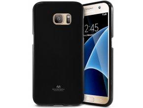 Pouzdro / kryt pro Samsung Galaxy S7 - Mercury, Jelly Black