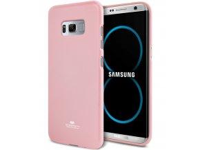 Pouzdro / kryt pro Samsung Galaxy S8 - Mercury, Jelly Pink