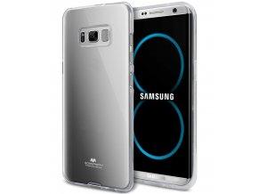 Pouzdro / kryt pro Samsung Galaxy S8 - Mercury, Jelly Transparent