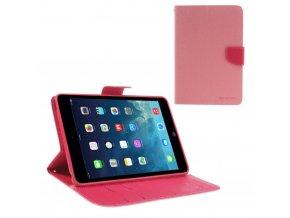 Pouzdro / kryt pro Apple iPad mini 1 / 2 / 3 - Mercury, Fancy Diary Pink/Hotpink