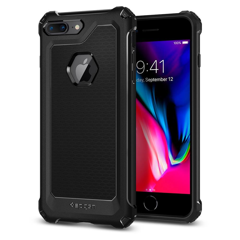 Ochranný kryt pro iPhone 7 PLUS / 8 PLUS - Spigen, Rugged Armor Extra Black