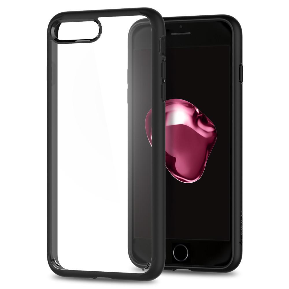 Ochranný kryt pro iPhone 7 PLUS / 8 PLUS - Spigen, Ultra Hybrid 2 Black