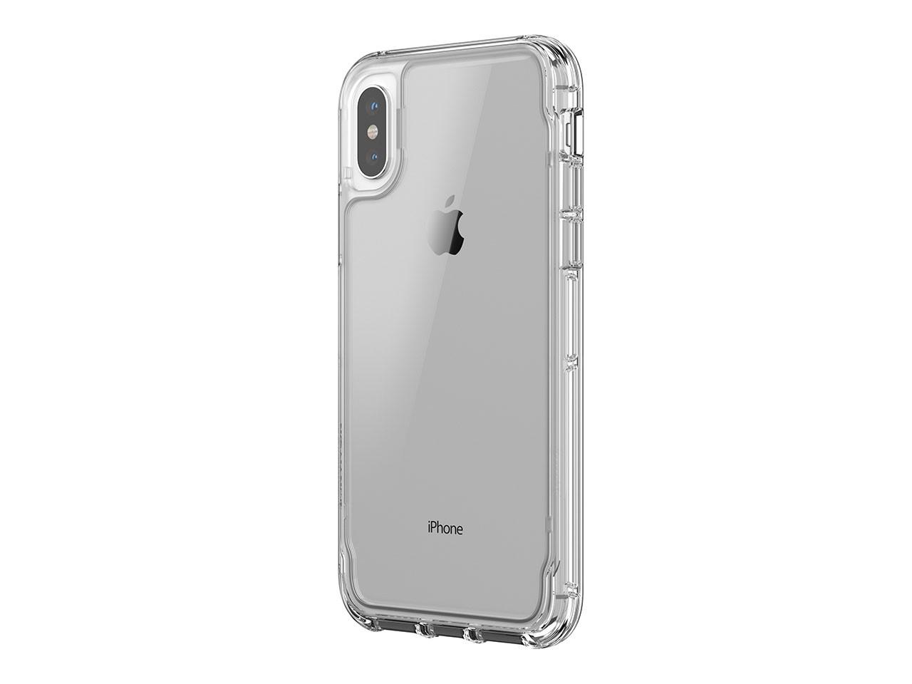 Ochranný kryt pro iPhone X - Griffin, Survivor Clear Crystal