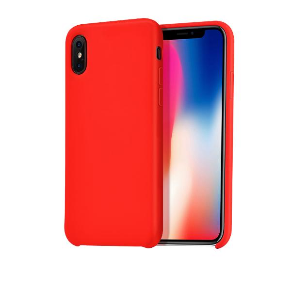 Ochranný kryt pro iPhone X - HOCO, Pure Red