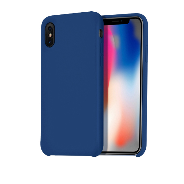 Ochranný kryt pro iPhone X - HOCO, Pure NavyBlue