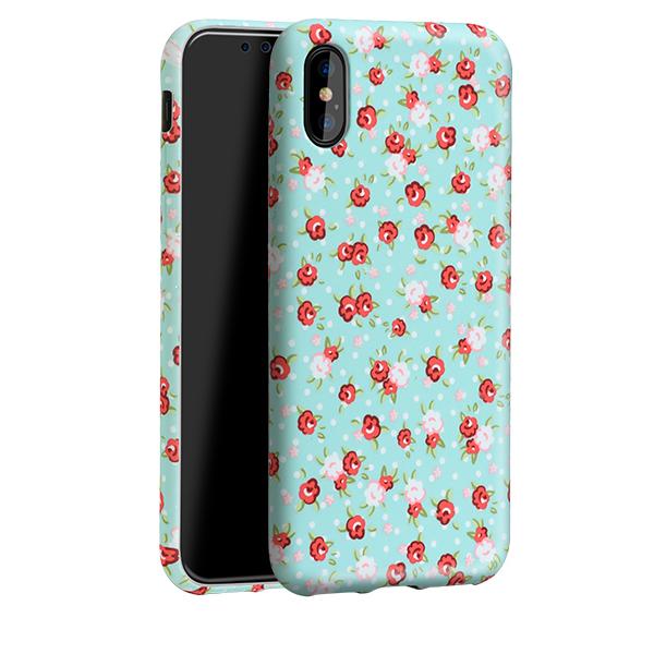 Ochranný kryt pro iPhone X - HOCO, Flowery Lovely Floral