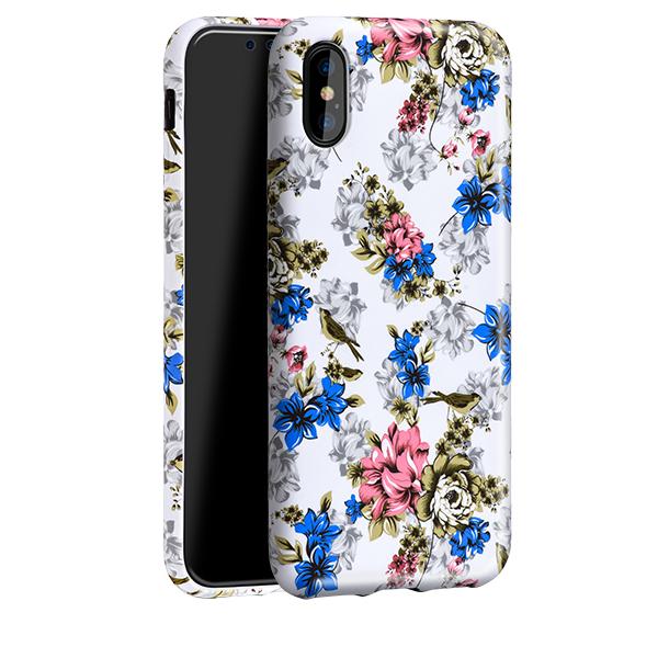 Ochranný kryt pro iPhone X - HOCO, Flowery Retro Rose