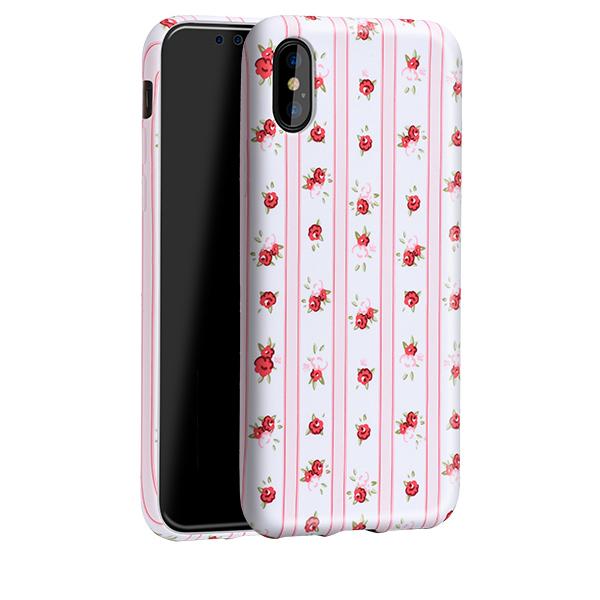 Ochranný kryt pro iPhone X - HOCO, Flowery Stripe Floral